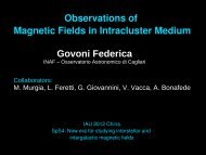 Observations of Magnetic Fields in Intracluster Medium Govoni ...