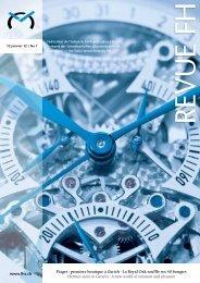 Consultez la Revue No 1 du 12.01.12 - Federation of the Swiss ...