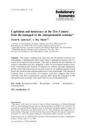 Capitalism and democracy in the 21st Century: from the managed to ...