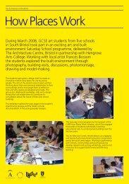 Saturday School exhibition - The Architecture Centre