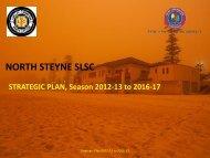 NORTH STEYNE SLSC STRATEGIC PLAN, Season 2012-13 to ...
