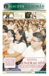 Martes 15 de Agosto de 2006 - Publicaciones - Universidad Juárez ...
