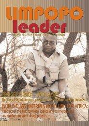 Limpopo Leader 11 -inside - University of Limpopo