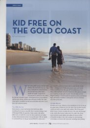 Kid Free on the Gold Coast - Witches Falls Cottages