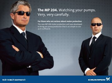 The MP 204. Watching your pumps. Very, very carefully.