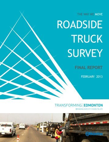 Roadside Truck Survey 2013 - City of Edmonton