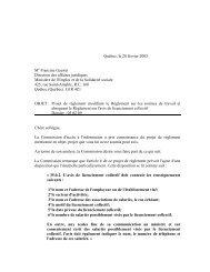 Avis du 28 février 2003 sur le projet de règlement modifiant le ...