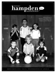 January 2010 (pdf) - Hampden Community Council