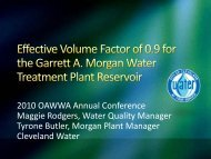Effective Volume Factor of 0.9 for the Garrett A ... - Ohiowater.org