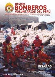 revista bomberos - Cuerpo General de Bomberos Voluntarios del Perú