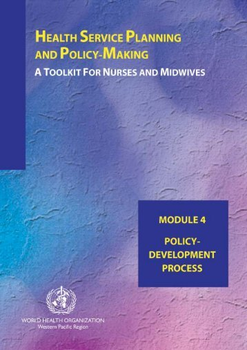 MODULE 4: Understanding the policy, political and decision-making ...