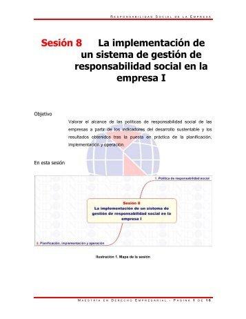 Sesión 8 La implementación de un sistema de gestión de ...