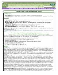 Principles of Good Practice for Budget Impact Analysis-ISPOR.pdf
