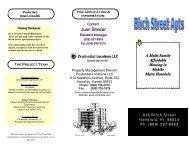 Birch Apt Brochure - Prudential Locations