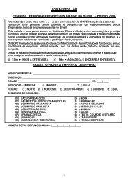 Questionário - Instituto Ethos
