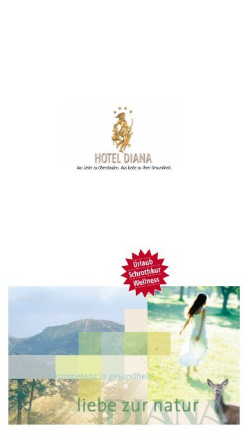 Urlaub Schrothkur Wellness - Hotel Diana