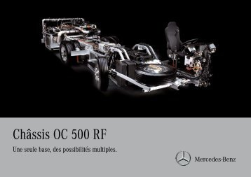 Châssis OC 500 RF - Mercedes-Benz