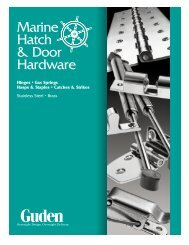 Marine hardware catalog