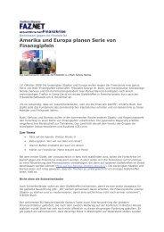 'Lesermeinung von PH zu= Amerika + Europa planen ... - Peter Heimig