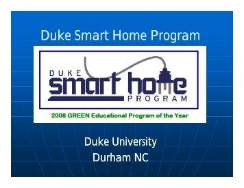 The Home Depot Smart Home - North Carolina Coastal Training ...