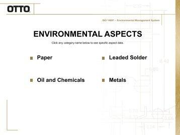 Environmental Aspects - Otto