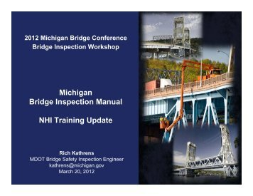 Calibration - Presented by Rich Kathrens - Michigan's Local ...