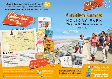 80holidays - Golden Sands Holiday Park