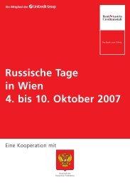 Russische Tage in Wien2007