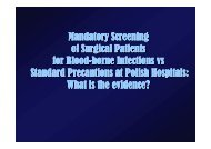 Mandatory Screening of Surgical Patients for Blood for ... - Epi2008