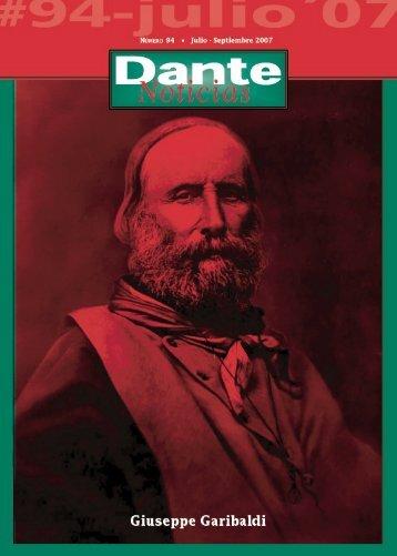 Giuseppe Garibaldi - Asociación Dante Alighieri
