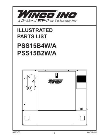 Illustrated parts lists ac and dc generator winco www illustrated parts lists ac and dc generator winco asfbconference2016 Images
