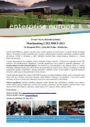 Matchmaking CZECHBUS 2013 - Incheba Expo Praha