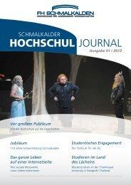 1/2012 - Fachhochschule Schmalkalden