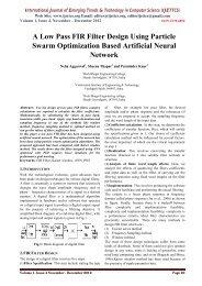 A Low Pass FIR Filter Design Using Particle Swarm Optimization ...