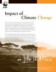 Impacts of Climate Change on Life in Africa - WWF Blogs