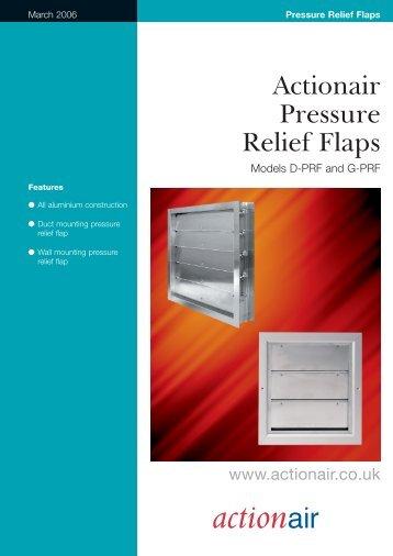 Pressure Relief Flaps