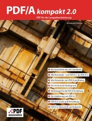PDF/A kompakt 2.0 – PDF für die ... - PDF Association