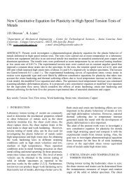 New Constitutive Equation for Plasticity in High Speed Torsion Tests ...