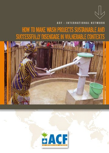 How to make waSH projectS SuStainable and ... - BVSDE