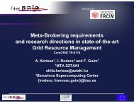 Meta-Brokering requirements and research directions in state-of-the ...