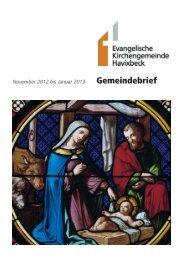 Gemeindebrief - Evangelische Kirchengemeinde Havixbeck