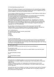 3.6 Incidentbestrijding opslag Diermeel Doel van dit ... - NIFV