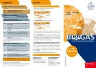 SPEZIAL KOMMUNEN - BIOGAS Jahrestagung und Fachmesse