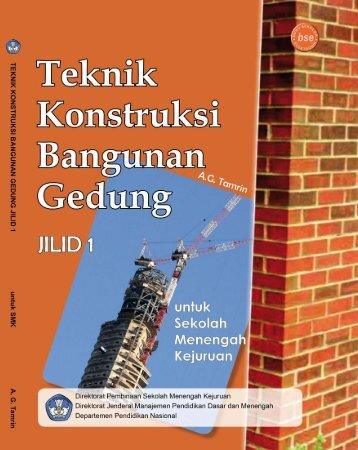 teknik konstruksi bangunan gedung jilid 1 smk