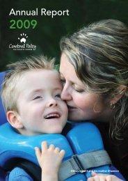 2009 Annual Report - Cerebral Palsy Alliance