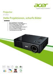 Projector Helle Projektionen, scharfe Bilder - lcd medium