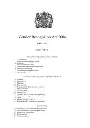 Gender Recognition Act 2004 - Gender Identity Research and ...