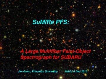 SuMIRe PFS: - IPMU