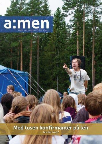 Klikk her for å lese bladet. - kirken på Askøy