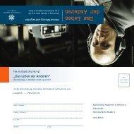 Programm (PDF: 491 Kb) - Katholische Akademie in Berlin eV